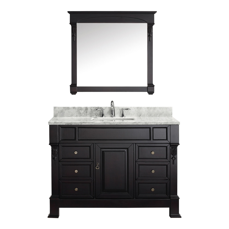 Virtu USA - MS-2948-WMSQ-DW - Huntshire Manor 48 in. Bathroom Vanity Set