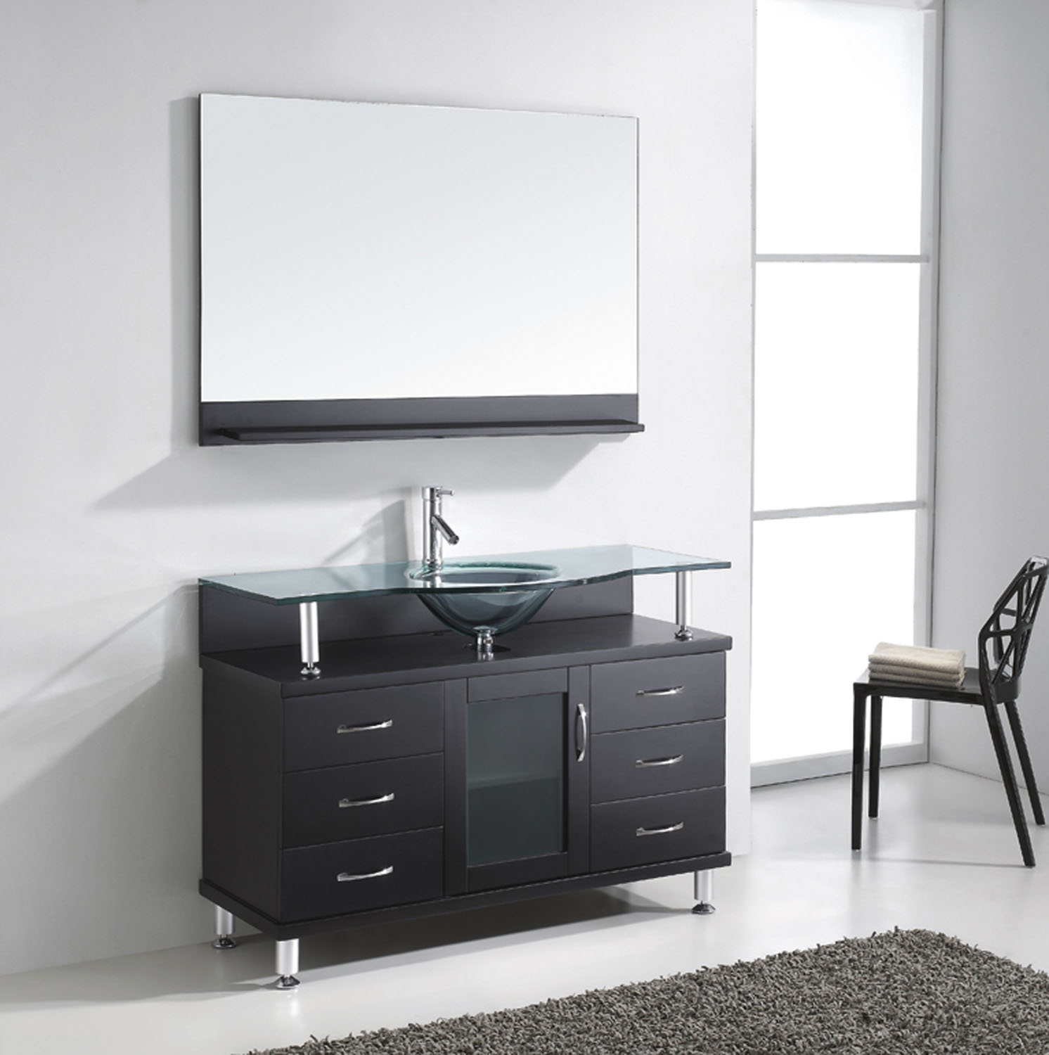 "Vincente 48"" Vanity in Espresso by Virtu USA - ms-48-g-es-2"