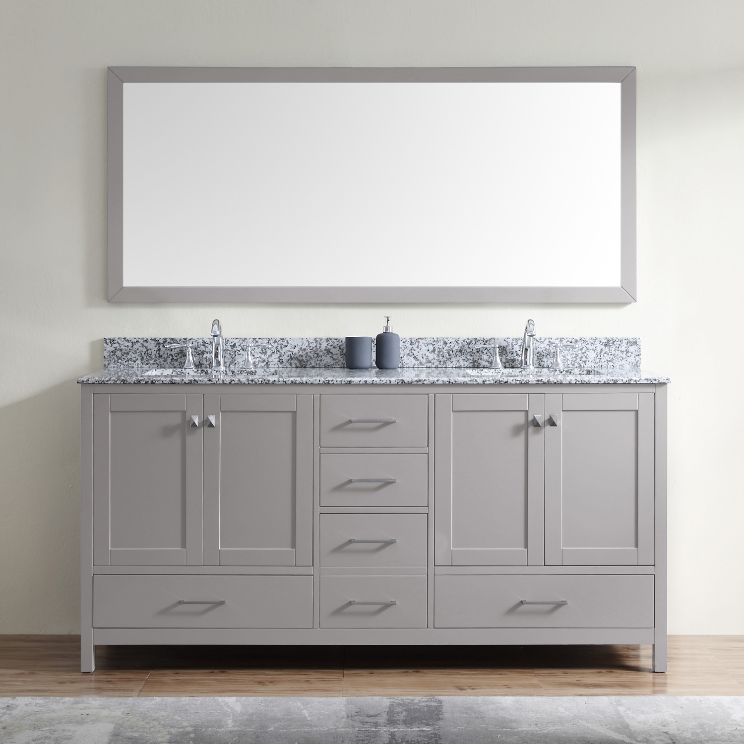 "Caroline Madison 72"" Vanity by Virtu USA - gd-28072-awsq-cg"
