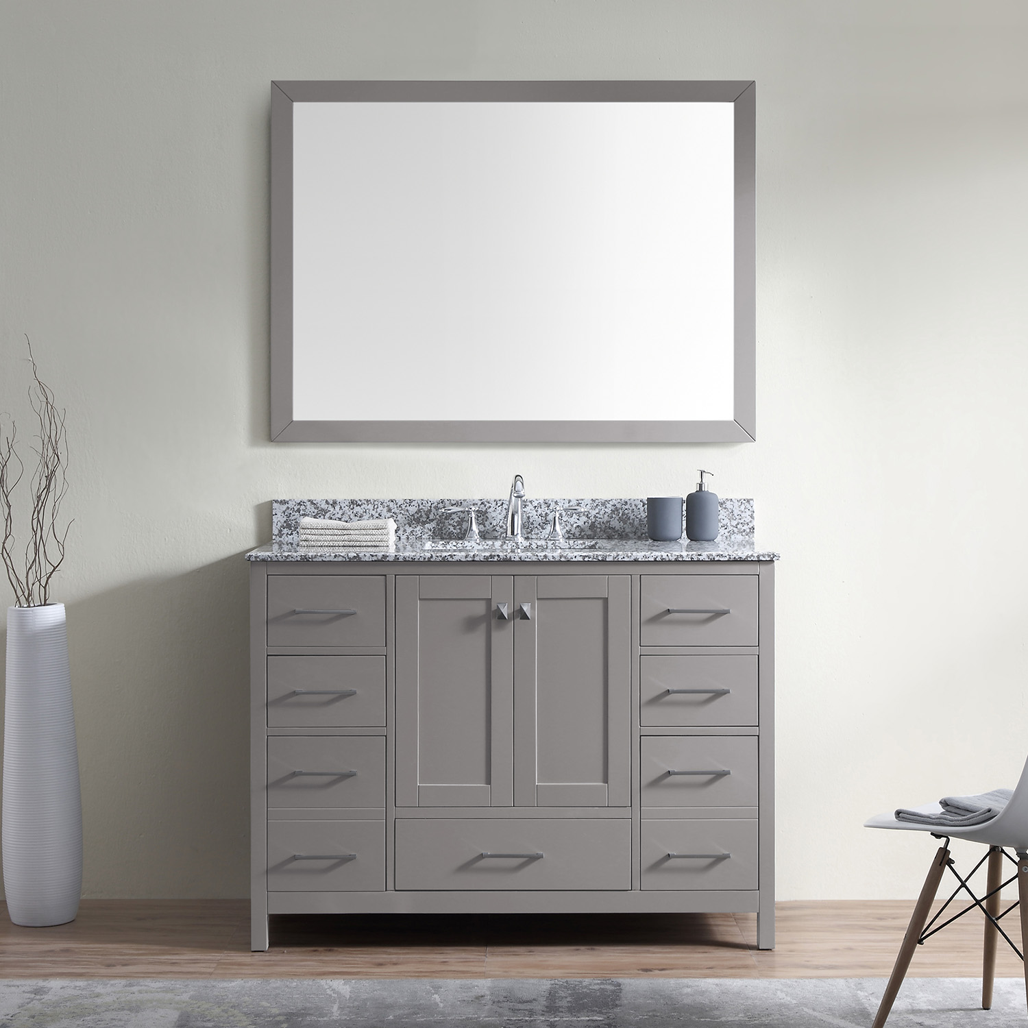 "Caroline Madison 48"" Vanity by Virtu USA - gs-28048-awsq-cg-3"