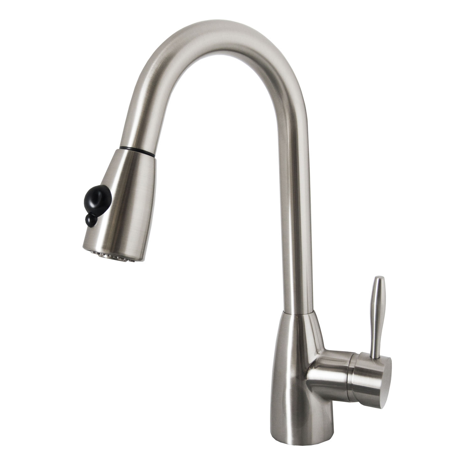 Neptune 1001 Single Hole Kitchen Faucet - PSK-1001 - Kitchen Faucets -  Virtu USA