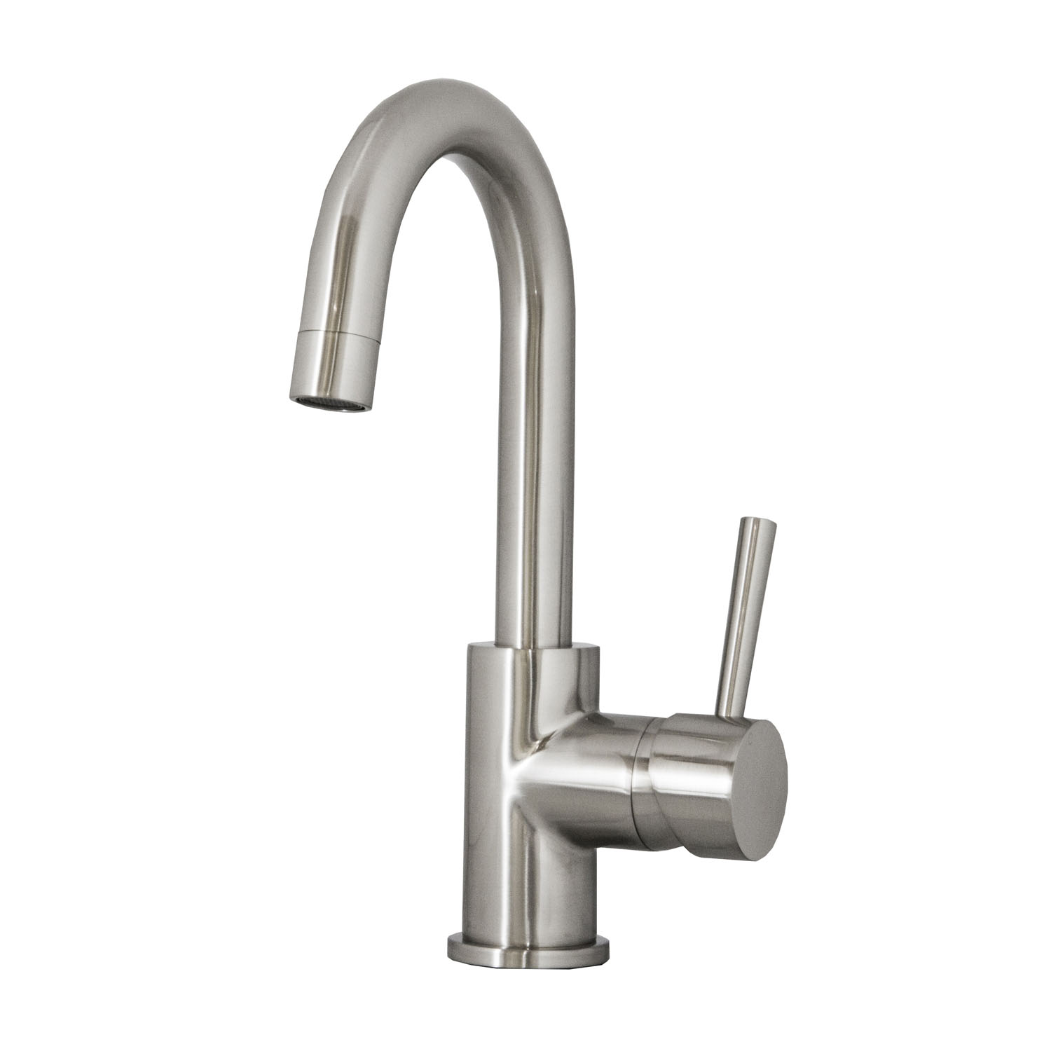 Lithios 501 single hole kitchen faucet psk 501 kitchen faucets virtu usa