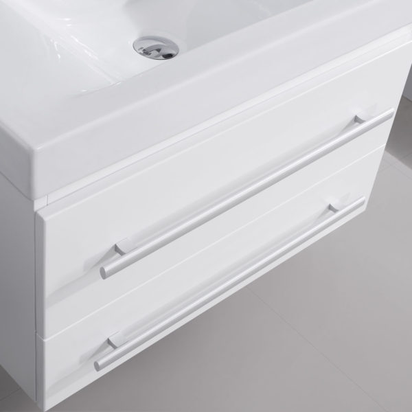 Virtu USA - UM-3081-C-WH - Antonio 29 in. Bathroom Vanity Set