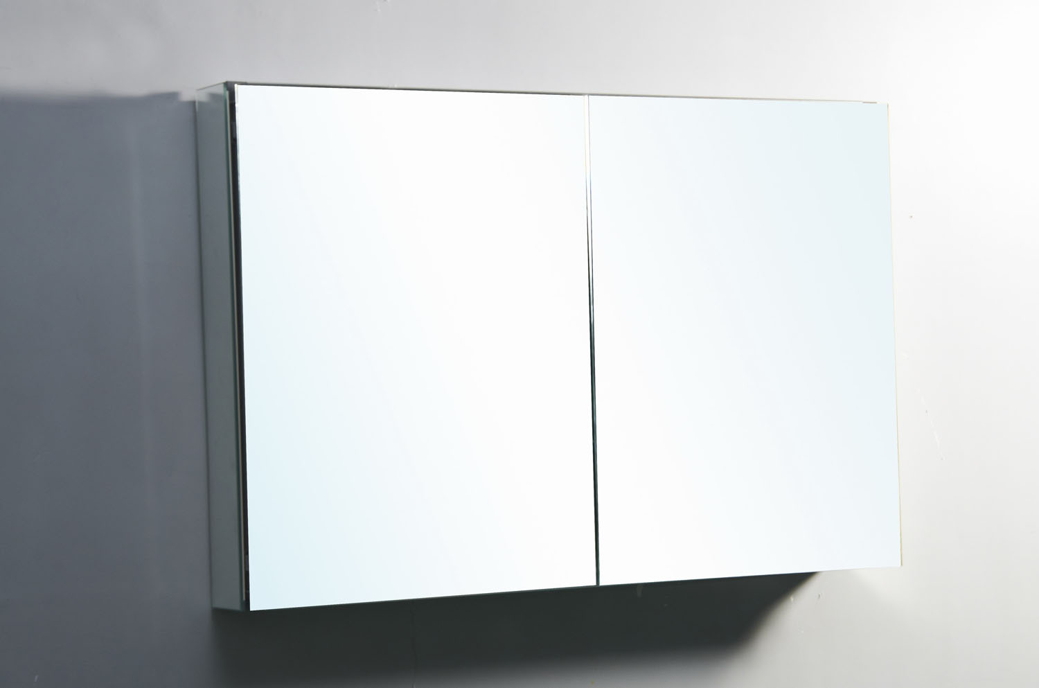 "Confiant 40"" Mirrored Medicine Cabinet Recessed Or Surface"