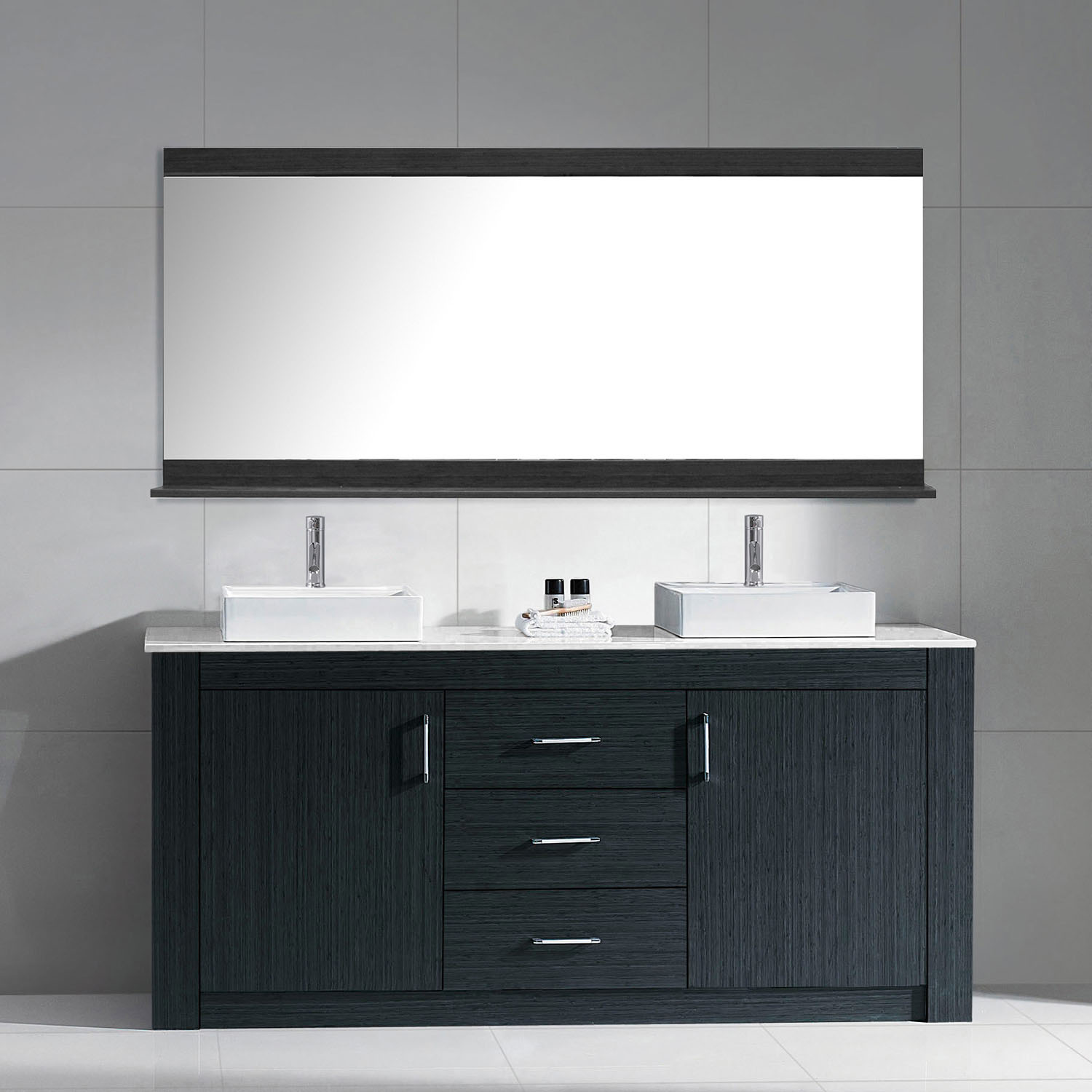 for undermount vanity livia double updated cabinet sinks white bathroom